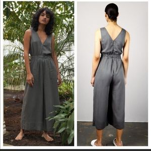 Native youth grey jumpsuit